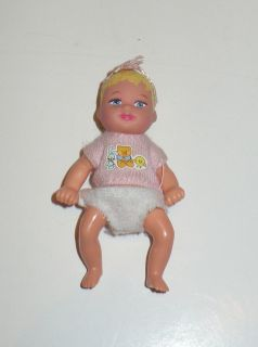 Mattel Barbie Baby Happy Family Baby Krissy Doll VGC