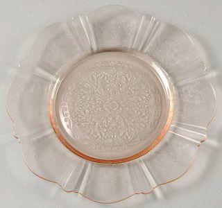 Macbeth evans Glass AMERICAN SWEETHEART PINK Bread & Butter Plate