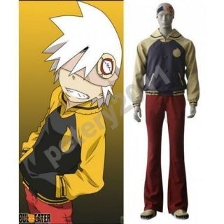Soul Eater Evans Cosplay Costume All Size
