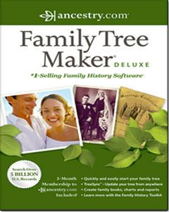 FAMILY TREE MAKER DELUXE 2012 * PC DIGITAL SOFTWARE * BRAND NEW