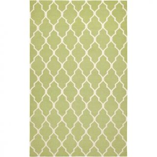Rizzy Home Rizzy Home Swing Hand Woven Dhurrie Rug Lime   8 x 10