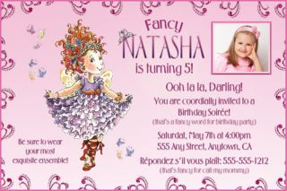Disney Princess Custom Photo Birthday Party Invitations & FREE Thank U