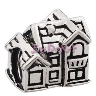 family Eudora silver screw charm bead S1208