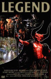 Legend Movie Poster 1985 Fantasy Tom Cruise Tim Curry