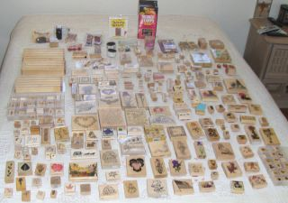 400 New Vintage Rubber Stamps PSX All Your Favorite Makers