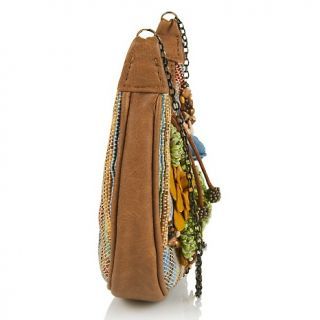 Handbags and Luggage Hobos Mary Frances Beaded Wildflower Mini