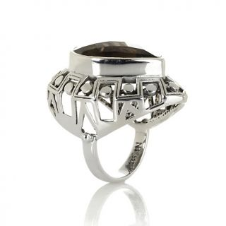 Jewelry Rings Gemstone Nicky Butler Checkerboard Cut Smoky Quartz