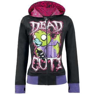 Cupcake Cult Dead Cute Gothic Emo Punk Girls Duck Hood Halloween Thumb