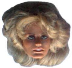 1976 Charlies Angels 12 Mego Doll Farrah Fawcett Head