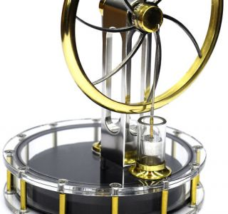 Solar Stirling Engine Readybuilt No Steam Executive Toy