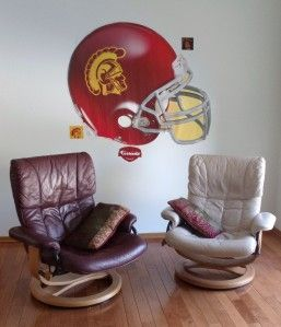 Brand New in Box Fathead USC Football Trojans Helmut Vinyl Wall Decal