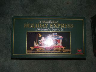 Bright The Holiday Express animated POST OFFICE CAR 380 1 new in box