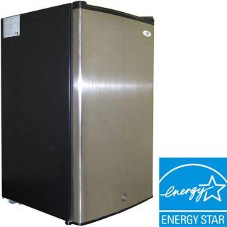 Upright Freezer w/ Lock & Key, Stainless Steel Energy Star