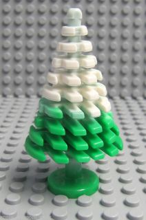 New Lego Belville Evergreen Tree Snow Christmas Holiday