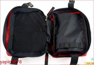 Camping Home Work Medical Emergency Survival First Aid Kit Bag Black