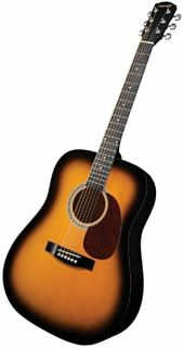 Fender Starcaster Acoustic Electric Guitar Sunburst