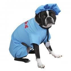 ER Doctor Dog Pet Puppy Halloween Costume Shirt Jacket Coat Clothing