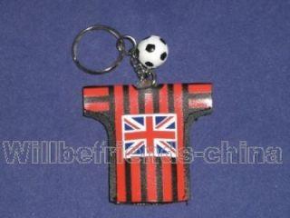 England Football Soccer T shirt Jersey FlashLight Keyring Keychain
