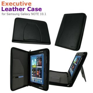rooCASE Executive Leather Case Cover for Samsung Galaxy NOTE 10 1