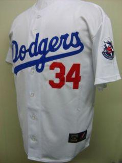 New 1981 Fernando Valenzuela Los Angeles Dodgers 34 Throwback