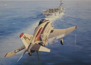 Phantom Navy VF 51 USS Coral Sea CV 43 Screaming Eagle Philip West