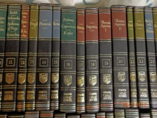 VNT LOT54 Great Books of The Western World Encyclopedia Britannica