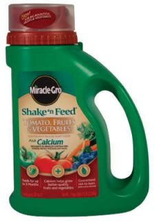 Scotts Miracle Gro 100856 4 5lb Shake N Feed Tomato Fertilizer w