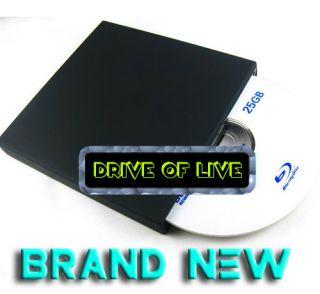 Ray Combo 3D Player BD ROM Slot in USB External Slim DVD Drive