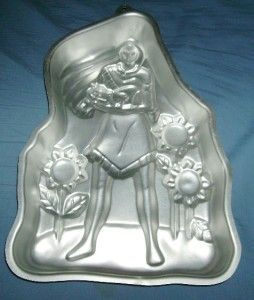 Vtg Wilton Cake Pan Pocahontas Unused Discontinued Native Amer