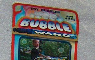Big Bubble Wand Blue 15 Long Giant Bubbles Blower Kids Fun Outdoor