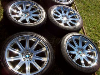 19 BMW Factory Wheels 745 740 740i 740IL 745i 745LI 750 750i Michelin