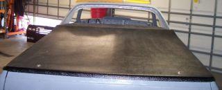 El Camino GMC Caballero Fiberglass Truck Bed Lid Tonneau Cover