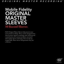 Mobile Fidelity   Master Inner Sleeves   50 Pack   New   MOFI