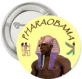 RARE Pharaobama Barack Hussein OBAMA 2012 Election campaign Pinback