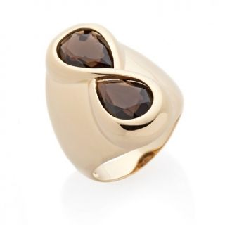232 529 technibond bold pear gemstone infinity ring rating be the