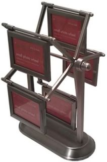 NEW* Small Ferris Wheel Multi Photo Frame   Holds 10 Small 2 x 3