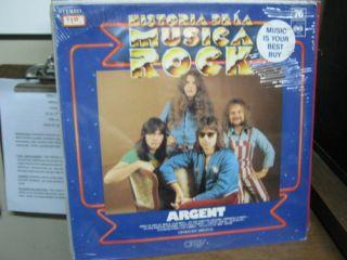 Argent Historia De La Musica Rock LP SEALED orbis