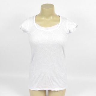 Erge Designs T Shirt Top Tee Print Lined Pink or White