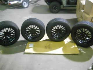 FALKEN ZIEX ZE912 TIRES 235 50Z 17 4TSW MATTE BLACK RIMS 2 17X8 2