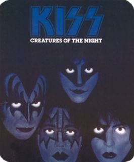 Kiss Creatures of The Night Fleece Throw Blanket New