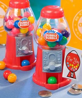 72 Double Bubble Classic Gumball Machines Pary Favors