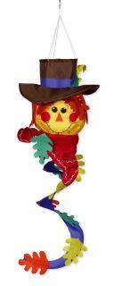 Scarecrow Fall Autumn Spinner Twist Windsock Wind Sock