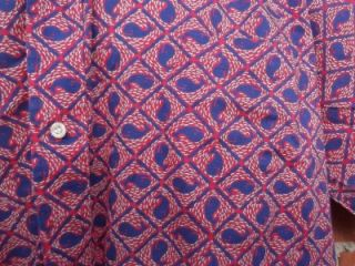 Blue Whale Pattern Commemorative Classics Button Up Shirt XXL