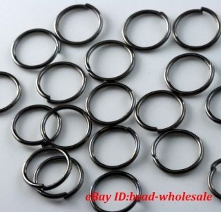 Silver Gold Plated Open Metal Jumping Rings Finding You Choose Color