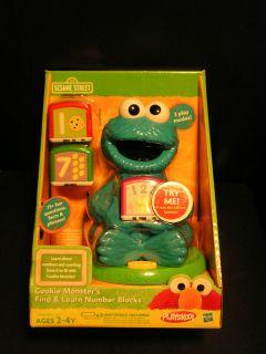 Playskool Sesame Street Cookie Monster Talking Find & Learn Number