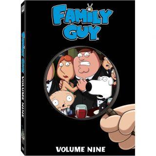 interest family guy volume 9 dvd 2011 3 disc set