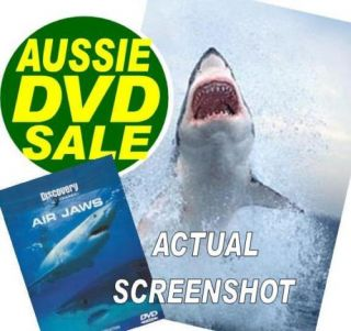 Air Jaws Great White Sharks 2 Part TV Series Discovery Channel DVD New