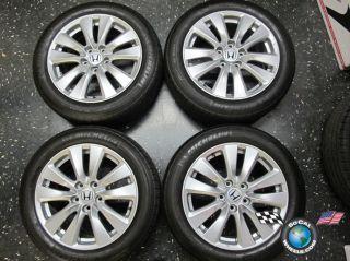 08 12 Honda Accord Factory 17 Wheels Tires OEM Rims 64015 225 50 17