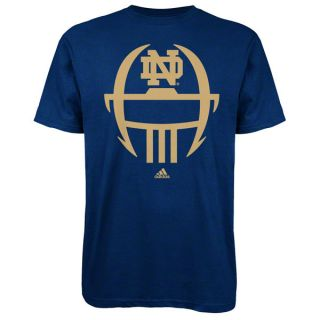Notre Dame Fighting Irish Navy Adidas 2012 Football Sideline Helmet T