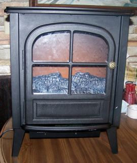 Modern electric firebox Stove Fireplace Heater with nice fake gas logs